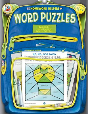 Word Puzzles, Grades K - 1 (Homework Helper) Frank Schaffer Publications